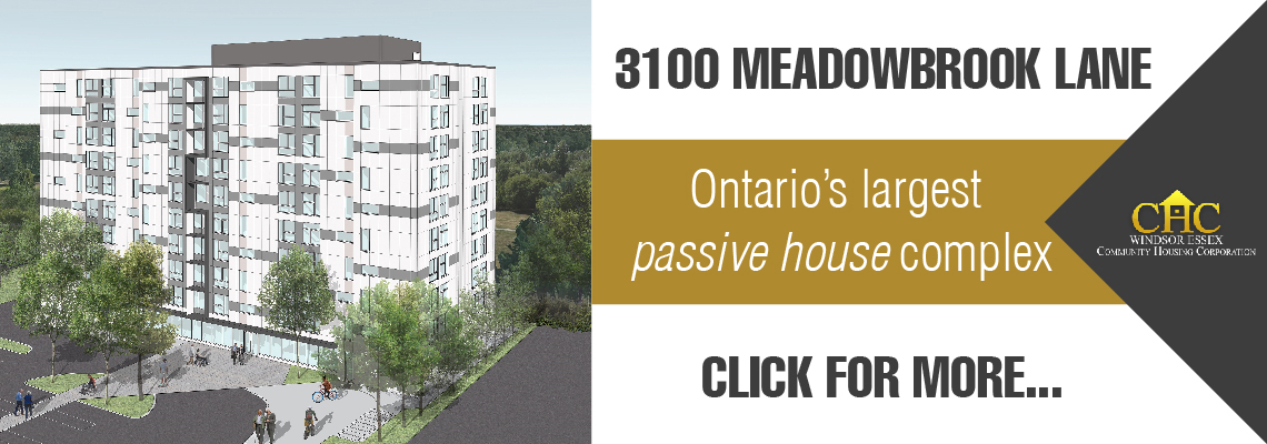3100 Meadowbrook lane is Ontario's largest passive house complex