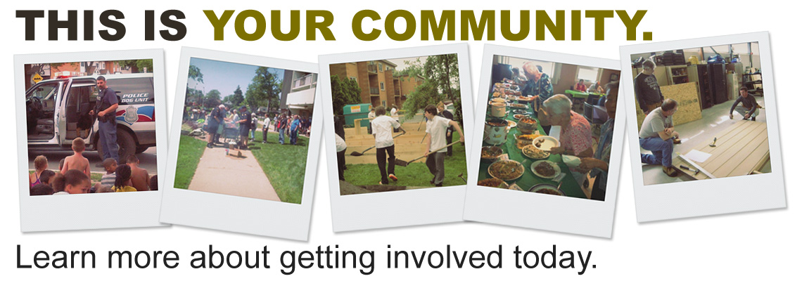 This is your community - Learn more about getting involved